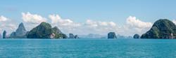 Islands in the Phang Nga Bay