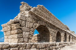 The morning at the ancient ruins