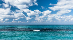 The sky over the sea