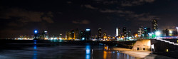 Night panorama Tel Aviv