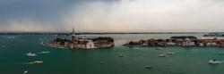 Panorama of the island of San Giorgio Ma