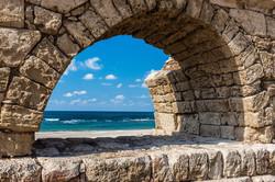 Sea and stone arch