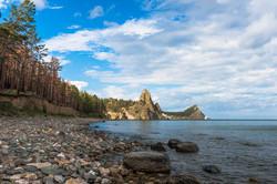 A rocky Cape on the horizon