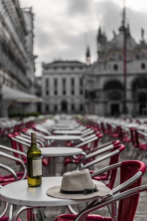 Morning in Piazza San Marco
