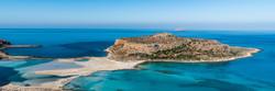 A small island in a beautiful Mediterran