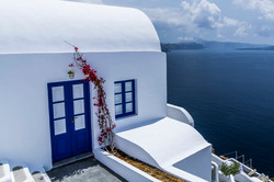 Greek house with sea view