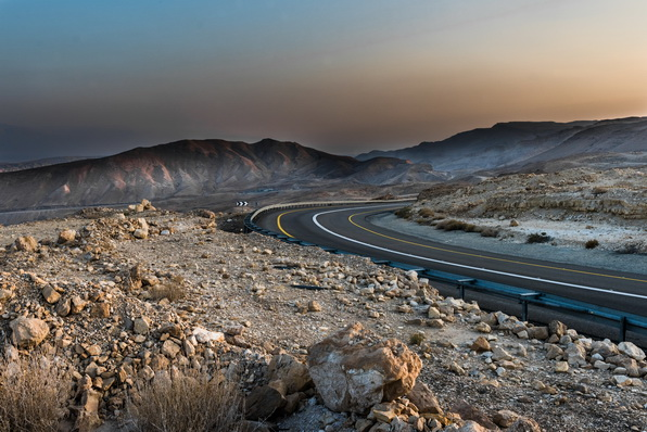 Twilight in the desert-