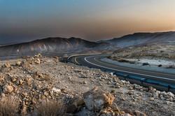 Twilight in the desert-