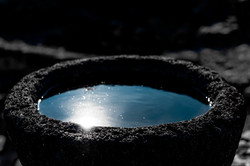 The sun in the ancient bowl