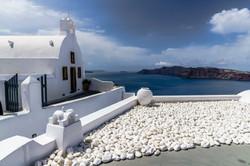 The little Church on the island of Santo