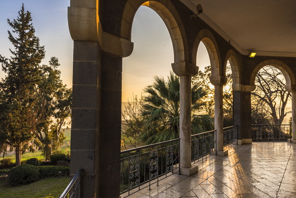Evening in the Church of the Beatitudes