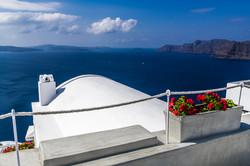 Flowers on the Mediterranean balcony