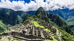 Ancient quarters of the Incas in Machu P