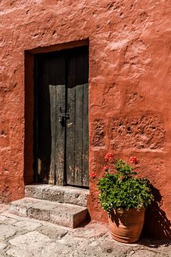 Old monastery door
