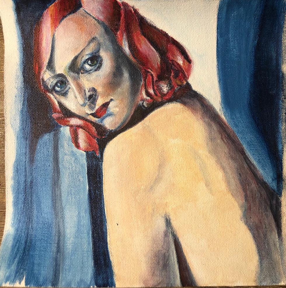 tudy of Tamara de Lempicka's Portrait de Marjorie Ferry