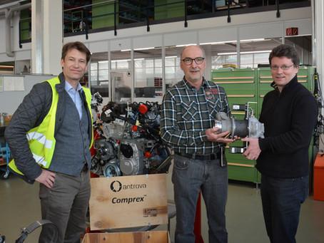 Comprex™ an die FPT Motorenforschung AG ausgeliefert