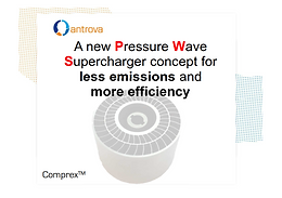 A new Pressure Wave Supercharger concept for less emissions and more efficiency