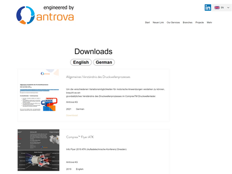 Have a look for our new Download page!