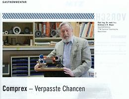Comprex™— Verpasste Chancen