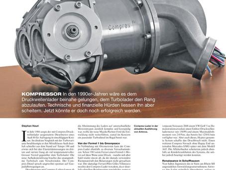 Artikel in der Schweizer Automobil Revue