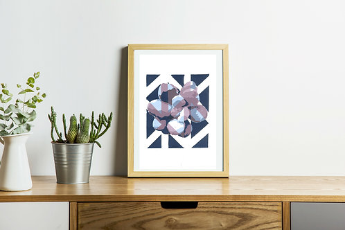 Succulent Triangle Print 3
