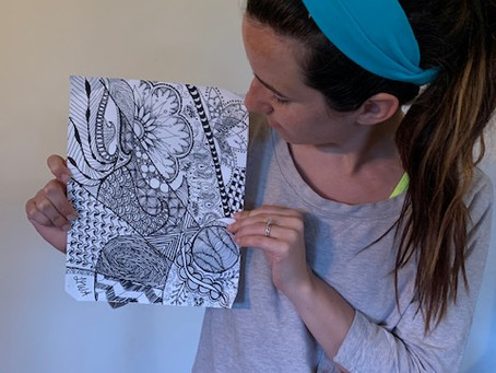 Zentangles! A meditative quarantine activity