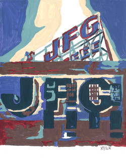 JFG Building and sign