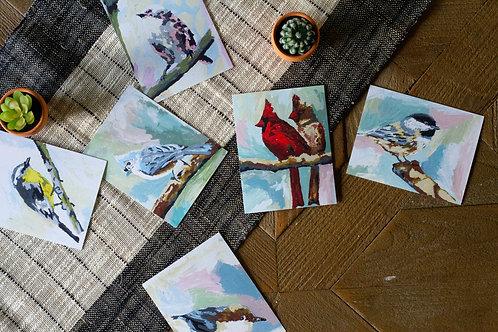 Bird Series Stationary