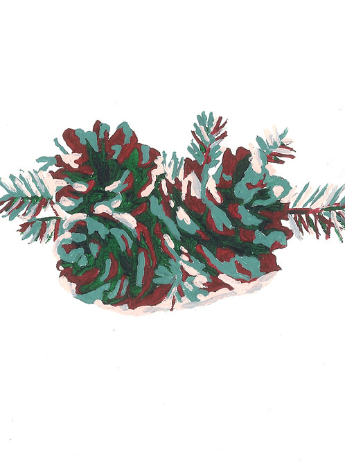 Pinecones and Pine