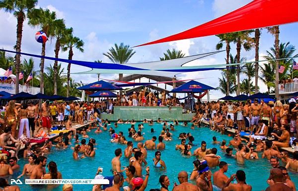 spring break - pool party