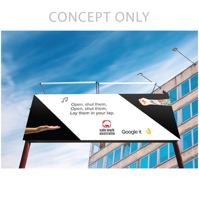 Safe Work Australia Billboard