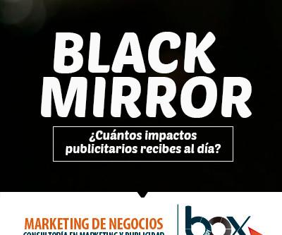Black mirror en publicidad, ¿lo conoces?