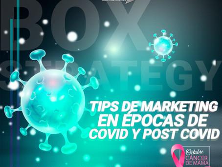 TIPS DE MARKETING EN ÉPOCAS DE COVID Y POST COVID