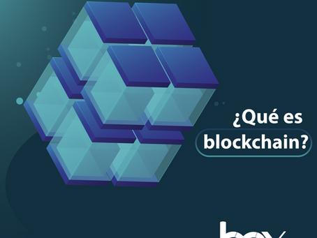 ¿Qué es el blockchain?