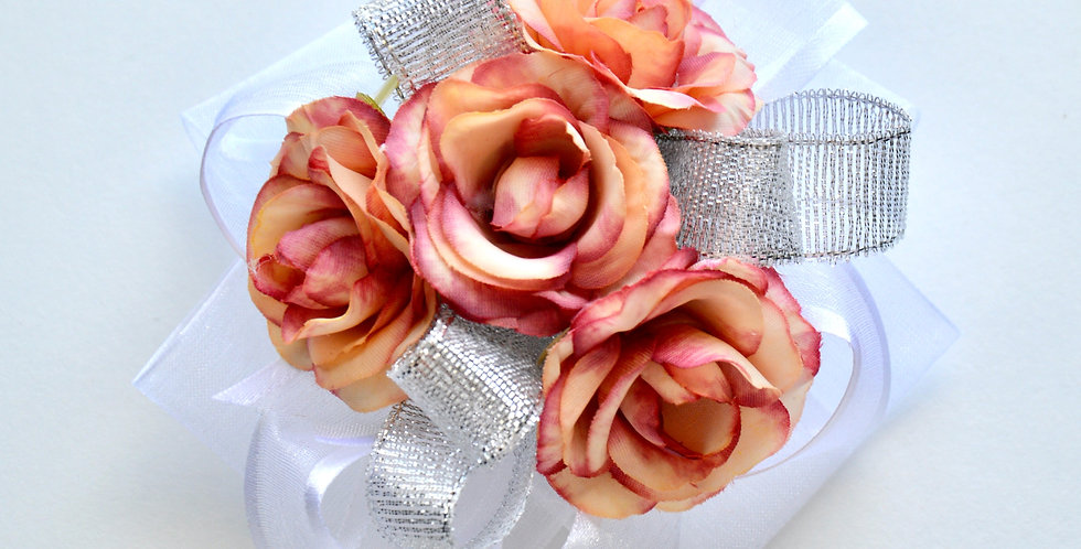 Tropical Rose Wrist Corsage