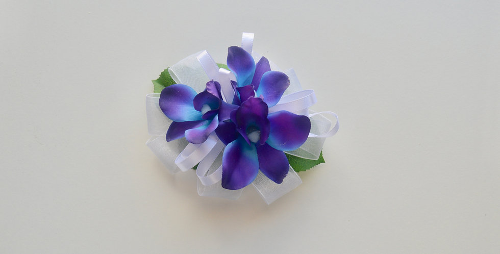 Galaxy Orchid School Ball Corsage