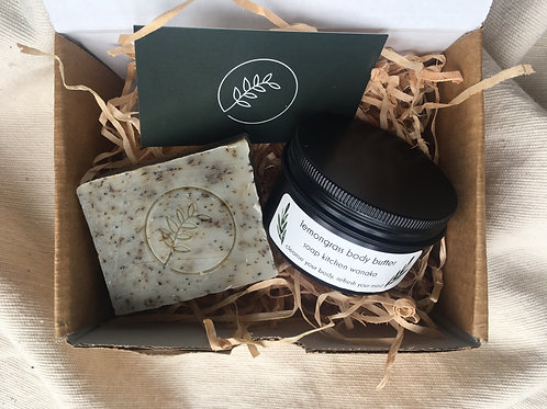GIFT BOX - BUTTER & SOAP