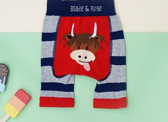 Blade & Rose Highland cow shorts