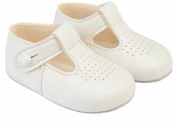 White soft soles