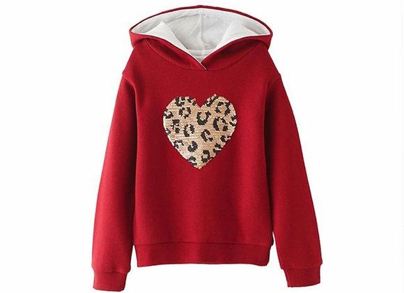 Newness leopard love top