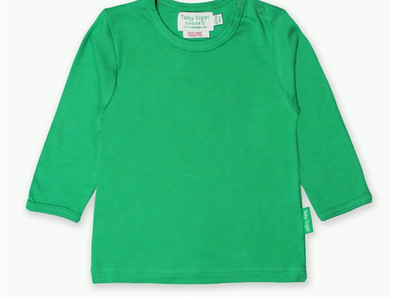 Toby tiger Green top