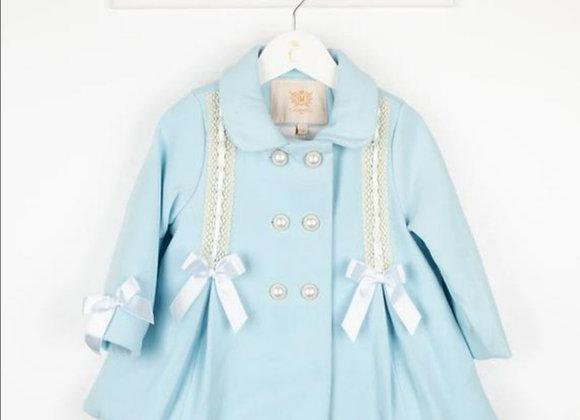 Darcy blue bow