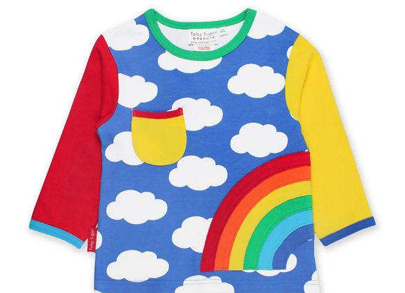 Toby tiger rainbow top (unisex)