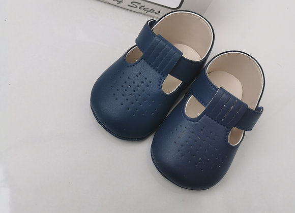 Baby soft soles navy