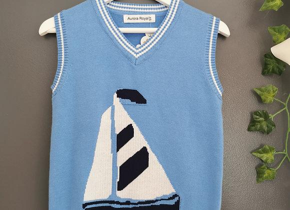 Sail tank blue