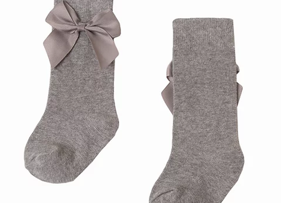 Newness baby Grey bow socks