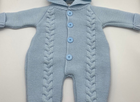 Blue baby Knit