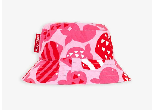 Toby tiger Fish Reversible Sun Hat