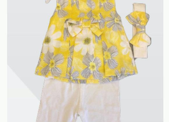 Bam-Bam girls set yellow