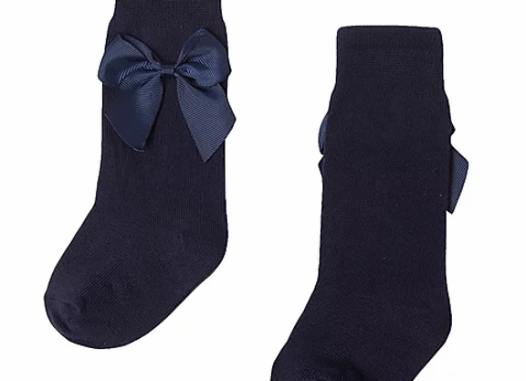 Newness baby navy bow